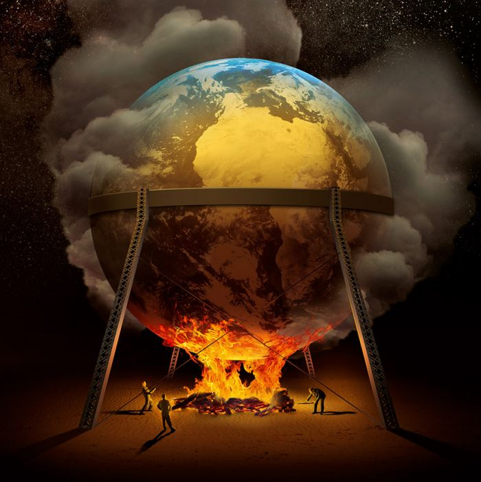 manusia yang merusak bumi