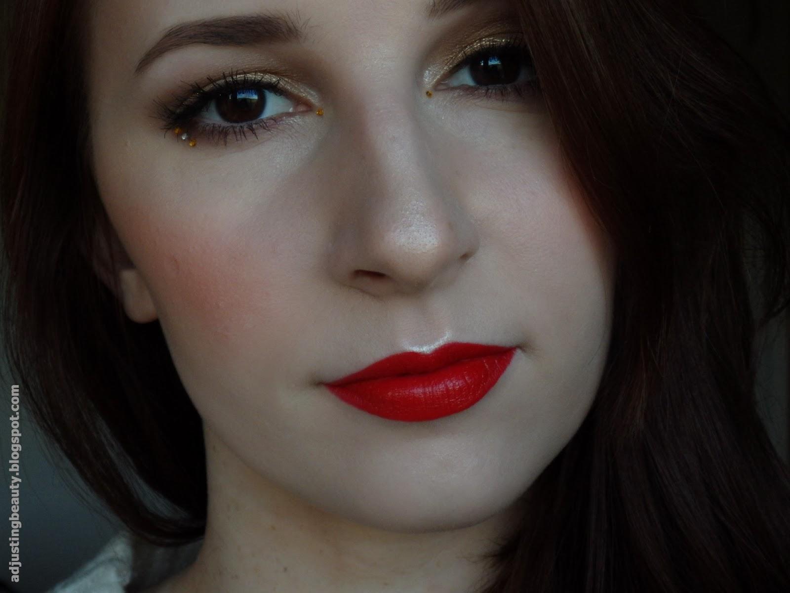Marsala Inspired Makeup - Adjusting Beauty