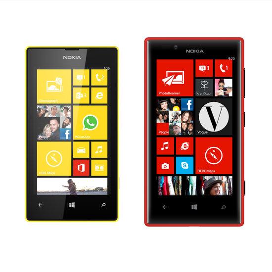 Nokia Lumia 720 ve Nokia Lumia 520, Nokia'nın Windows 8