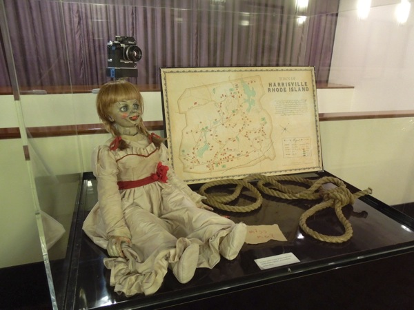 The Conjuring screen-used movie props