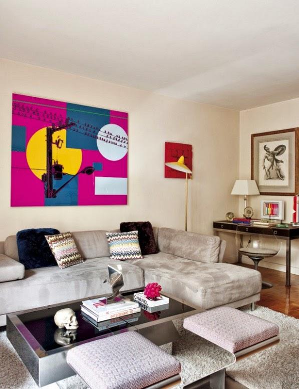 apartamento parisino decorado con piezas vintage
