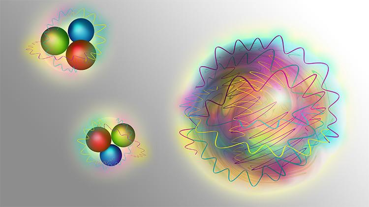 Científicos hallan la partícula de pura fuerza.