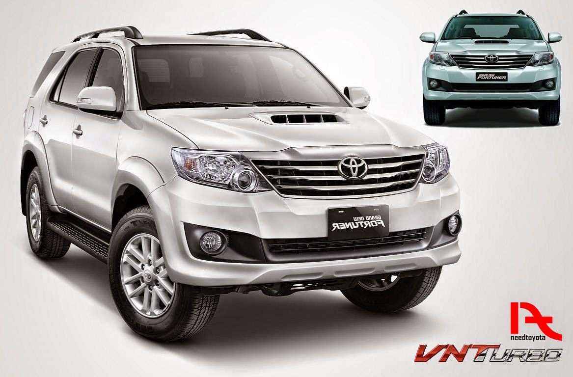 New Toyota Fortuner 2015