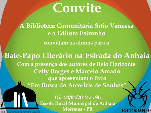 Editora Estronho e Biblioteca Comunitária Sítio Vanessa em PR