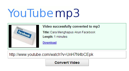 Cara Download Lagu dari Youtube