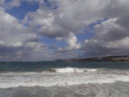 Sea, Chania, Crete, December 2015