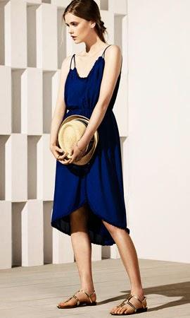 Massimo Dutti mujer vestido verano 2014