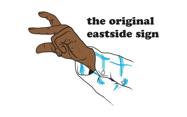east coast finger sign - photo #2