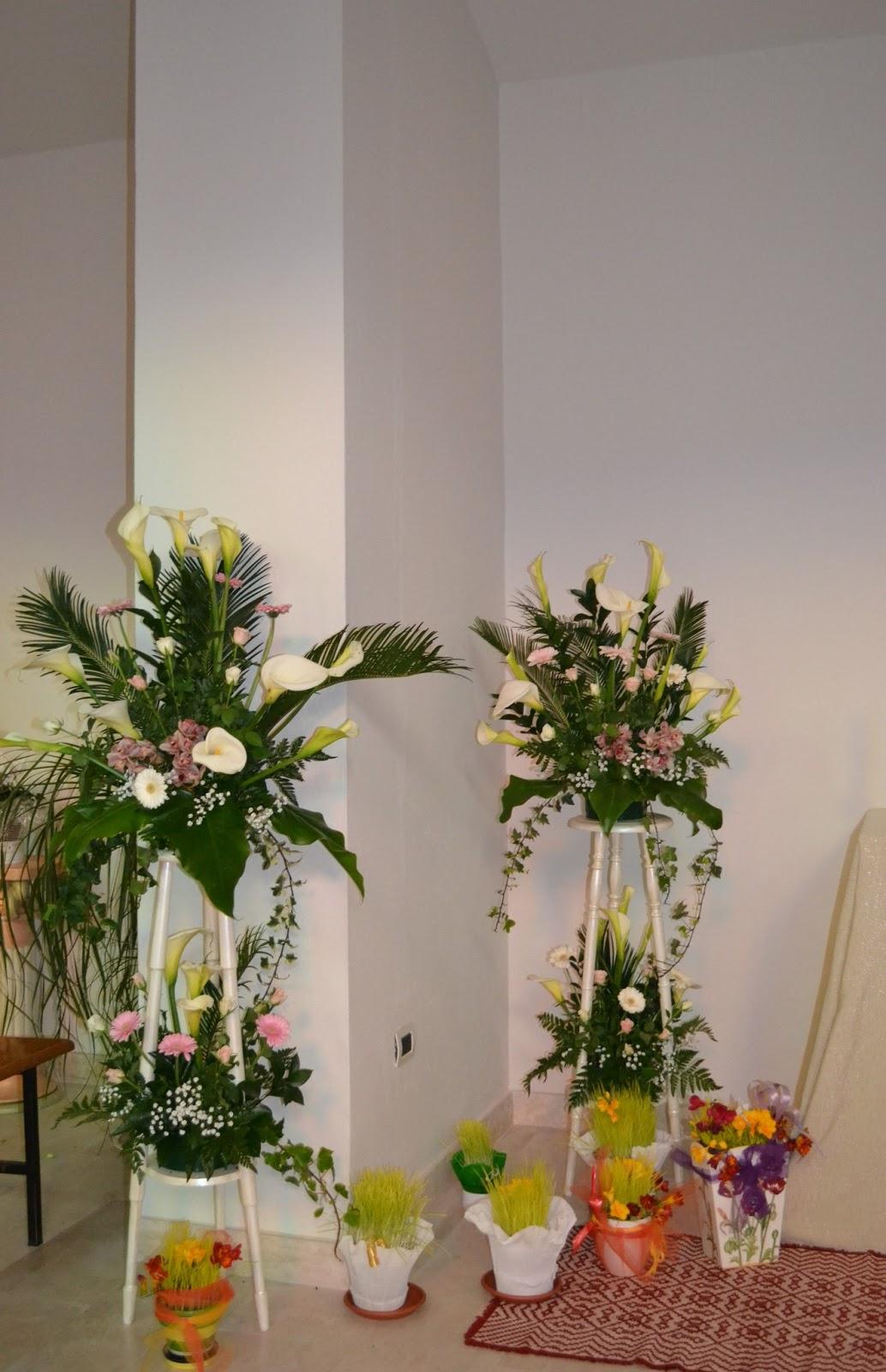 arte floreale per la liturgia altare della reposizione 2013