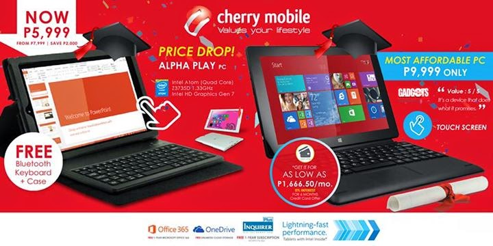 Cherry Mobile Alpha Play and Alpha Morph Price Drop!
