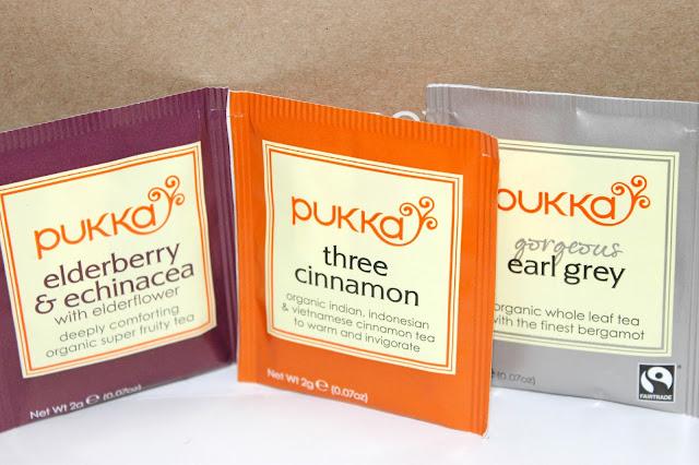 birchbox november 2013, birch box review pukka tea
