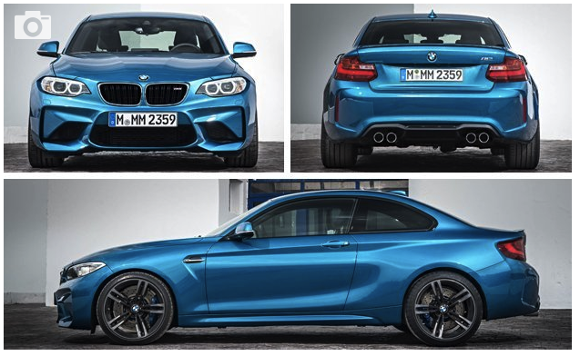 "2018 BMW M2 Revealed: ""M"" in Its Purest Form"
