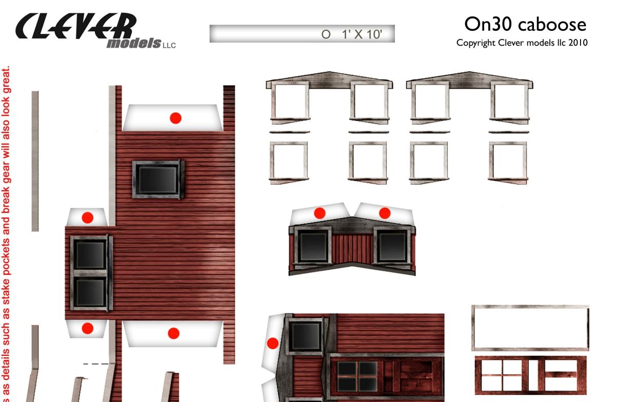 modellcom die etwas andere modellbahnseite narrow gauge caboose in h0 und 0 kostenloser. Black Bedroom Furniture Sets. Home Design Ideas