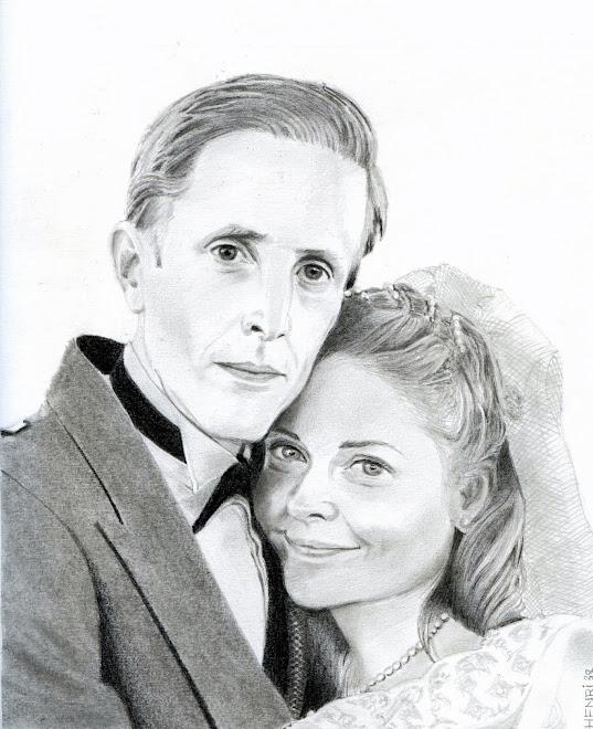 Joe et Anna à leur mariage
