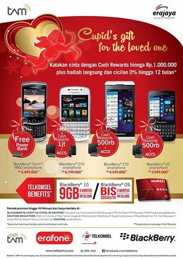 BlackBerry Promo Cupid's gift for the love one