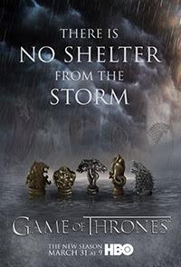 A trónok harca 3. évad című film borítója