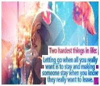 love quotes about letting go of someone