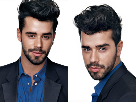 Top men hairstyles spring-summer 2012-3