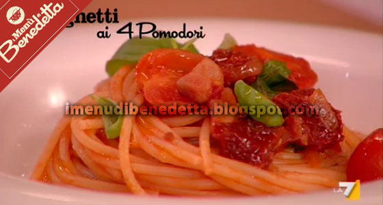 Spaghetti ai 4 Pomodori
