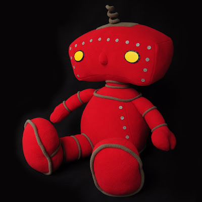 Gallery 1988 presents The Bad Robot Art Experience - Bad Robot Plush Figure Monster Factory
