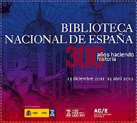 Tricentenario Biblioteca Nacional de España