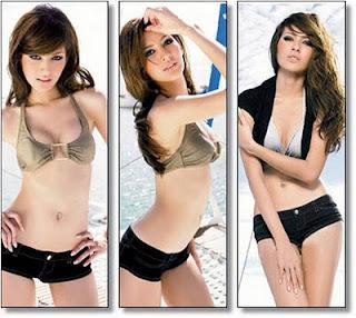 Foto-Foto Sexy Nok Usanee Watthana Hot..!!