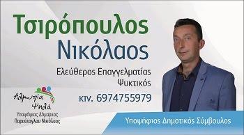 ΤΣΙΡΟΠΟΥΛΟΣ ΝΙΚΟΛΑΟΣ