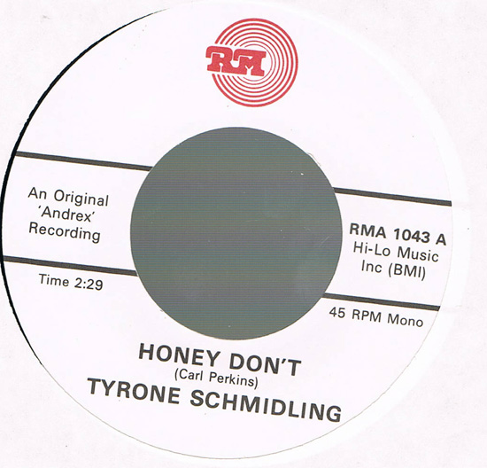 Tyrone Schmidling - You're Gone I'm Left / Honey Don't
