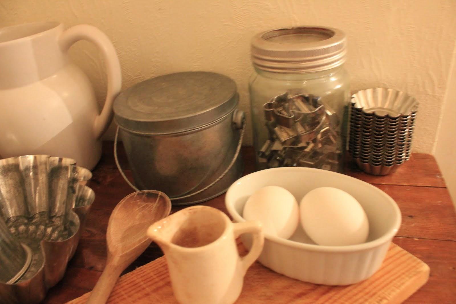 Gammeldags kjøkkenutstyr