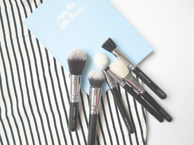 Zoeva Classic Face Make Up Brush Set Beauty