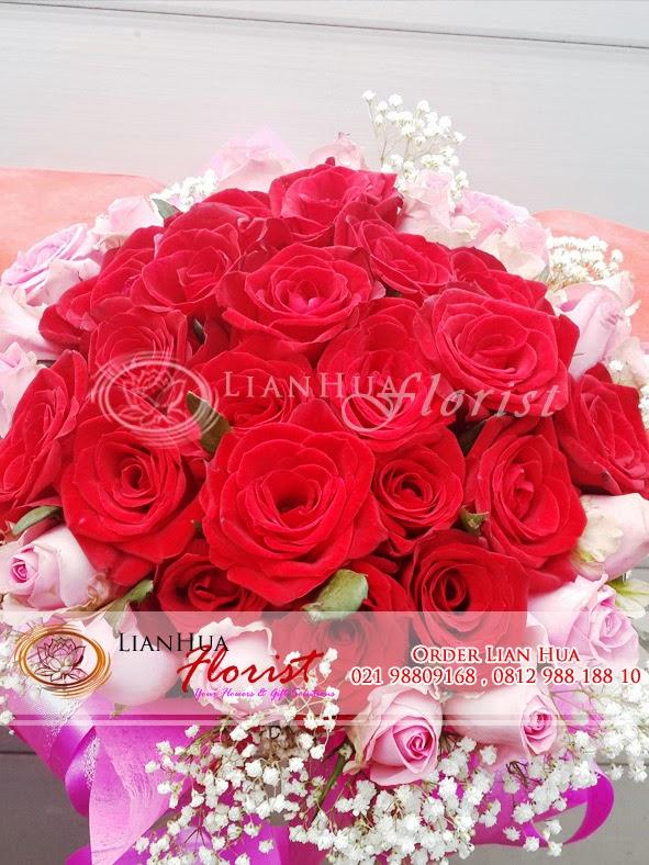 jual bunga valentine, karangan bunga valentine, kado valentine murah, bunga mawar valentine, toko bunga