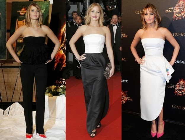 Los looks de Jennifer Lawrence