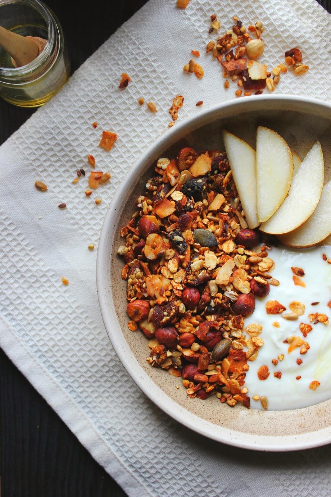Crunchy Apricot & Buckwheat Granola   happy hearted kitchen