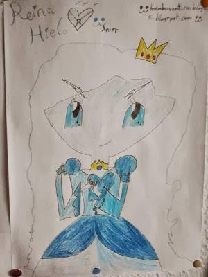 Reina Hielo (Dibujo mio animee)