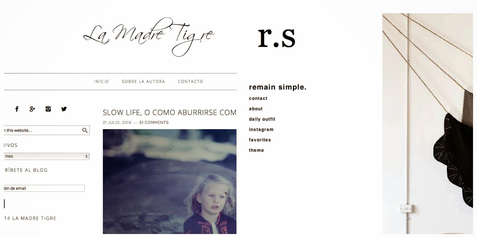 moodboard diseño blog