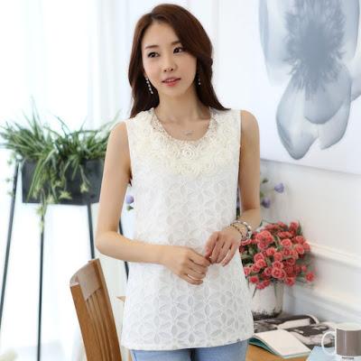 model baju atasan casual wanita import online