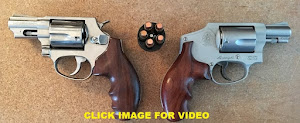 My concealed carry weapon of choice is a snub nosed .38 special with extended custom rosewood grips