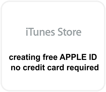 no credit card how to create apple id