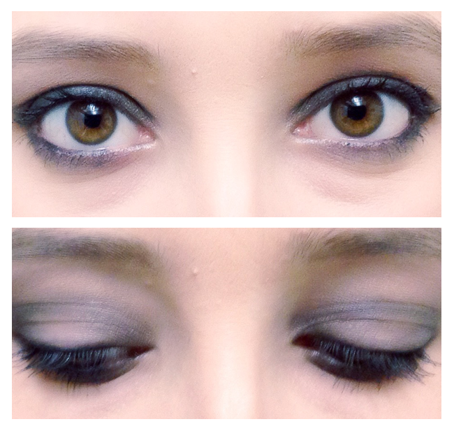 Urban Decay Naked Smoky Eye Makeup