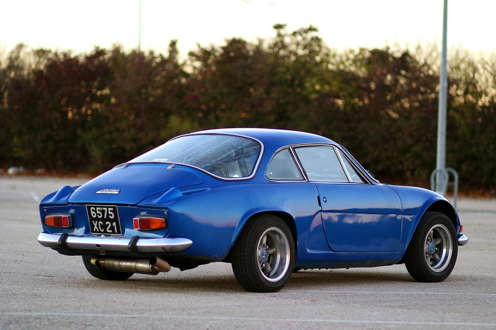 alpine a110 berlinette 1300 fab was there. Black Bedroom Furniture Sets. Home Design Ideas