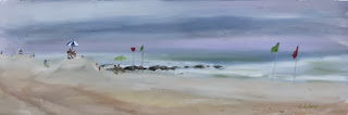 beach oils, Kathy Schifano