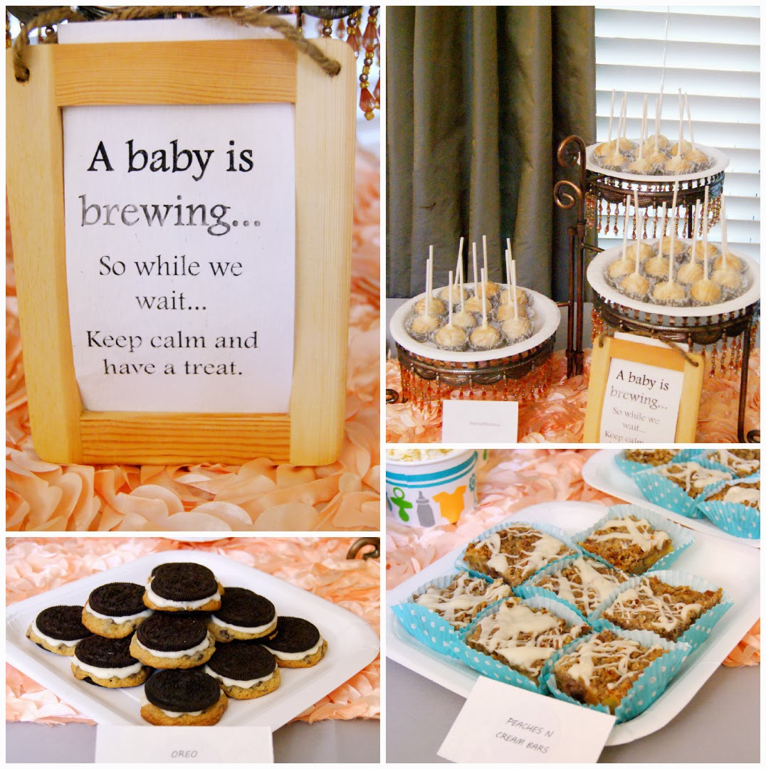 other desserts for this adorable tea party themed baby shower