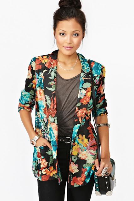Moda y ropa de mujer hermosas chaquetas para ir a la oficina for Chaquetas guapas