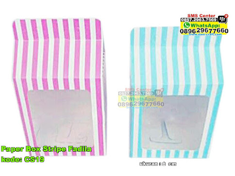 Paper Box Stripe Fadila