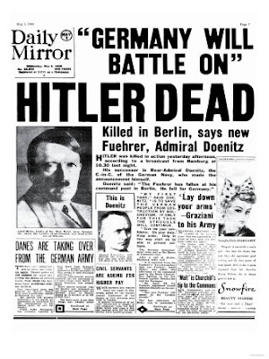 an analysis of the topic of the suicide and the final surrender After hitler: the last ten days of world war ii in europe by michael jones book review click to read the full review of after hitler: the last ten days of world war ii in europe in new york journal of books.