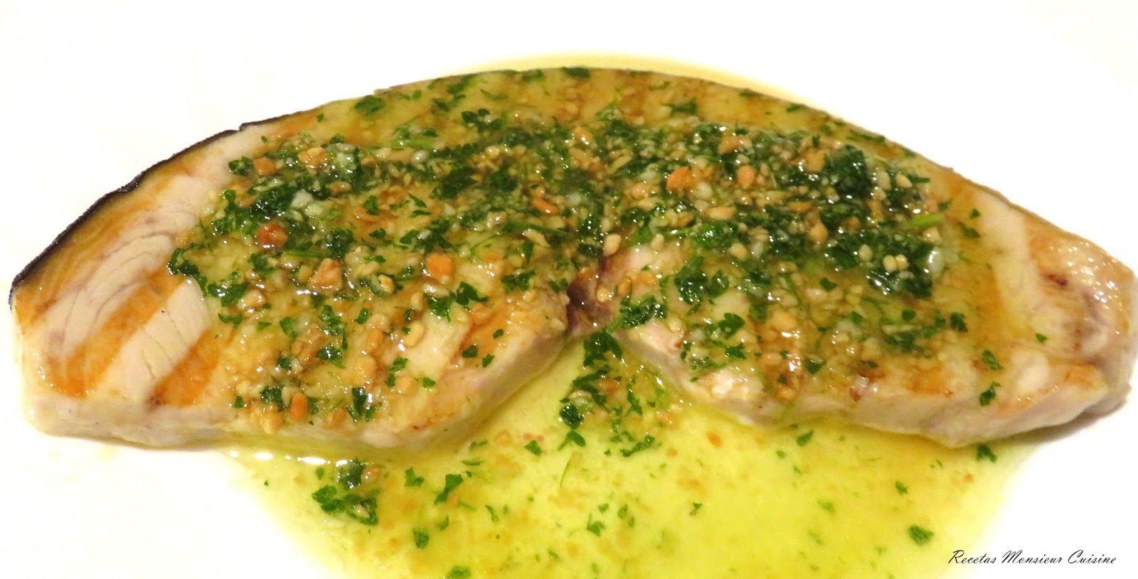Recetas monsieur cuisine salsa para emperador a la plancha for Cocinar emperador