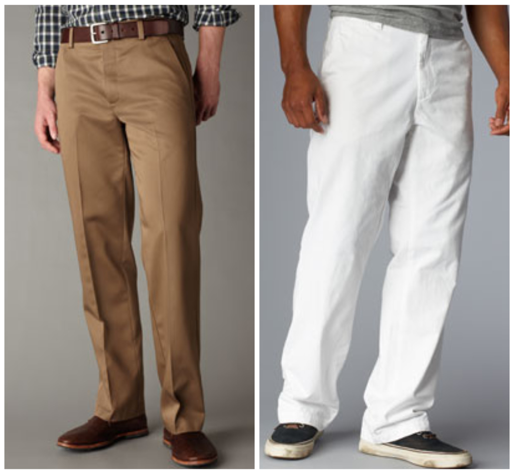 types of khaki pants - Pi Pants