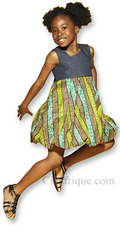 Isossy Children  african fashion for children on ciaafrique