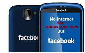No Internet but Facebook