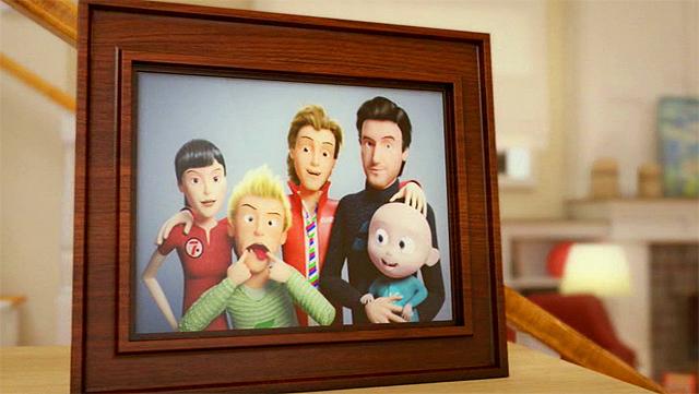 Imagen de la Promo Cuatro Bob Esponja Tenía que ser Cuatro Febrero 2011
